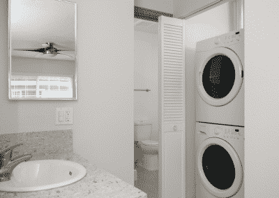 Washer and Dryer in your apartment home to make life easier