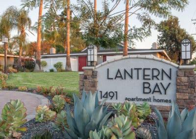 Lantern Bay entrance sign